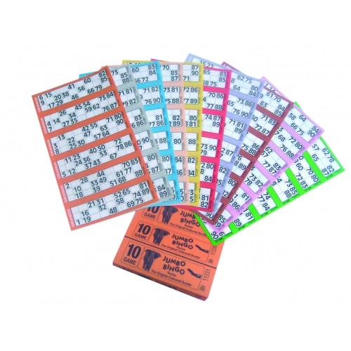 Jumbo Bingo Books (8 game)