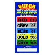 Super Colour Bingo Break Open Sets
