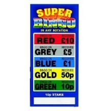 Super Colour Bingo Break Open Sets