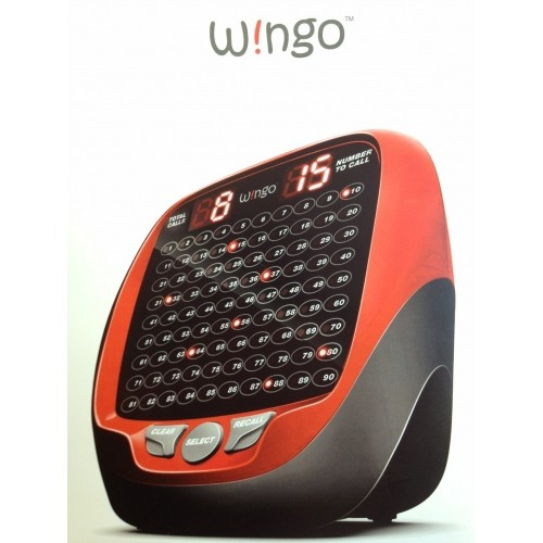 "Wingo 4"" Electronic Bingo Machine"
